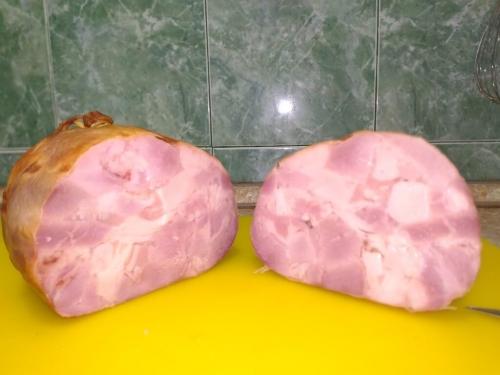Варено-копченая ветчина из свинины