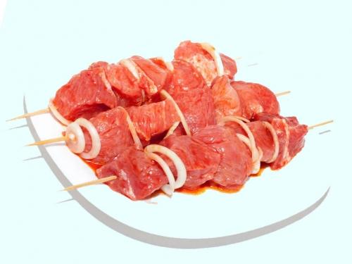 Шашлык из свиной шеи