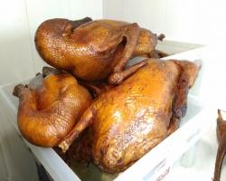 Домашние копченые гуси