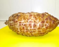 Копченая домашняя свиная ветчина