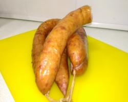 Домашняя подкопченая колбаса «Советская» (свинина)