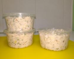 Паста из соленого сала