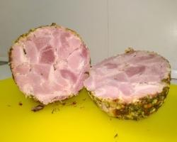 Вареная домашняя свиная ветчина