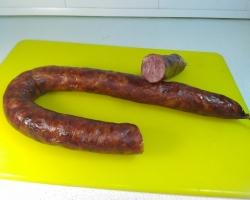 Копченая домашняя колбаса «Краковская»