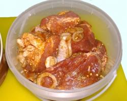 Шашлык из свиной лопатки по-техасски