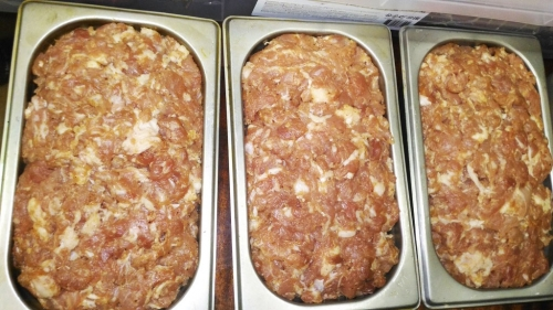 Копченый, домашний, колбасный хлеб в специях