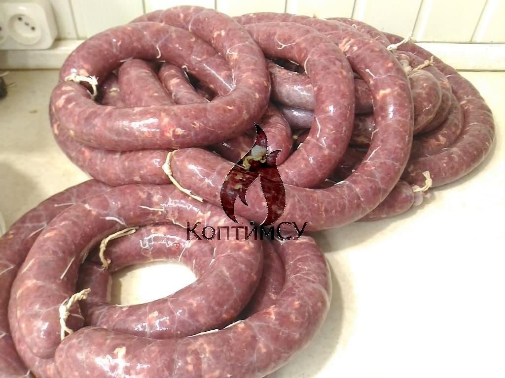 Купаты из свинины говядины